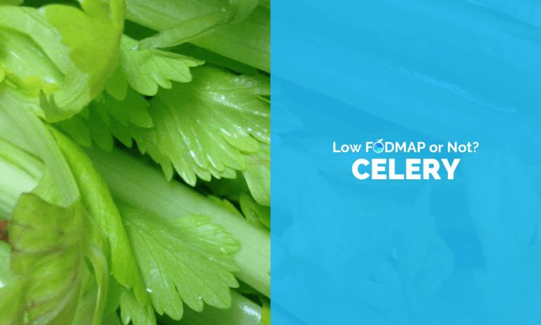 Is Celery Low FODMAP